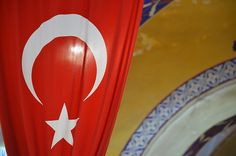 Red Turkey Flag