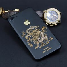 Dragon Style   Available Color:  Black, Red  Available Models: iPhone 6/6 Plus → Dragon Style Price: $220 iPhone 6s/6s Plus → Dragon Style Price: $220 iPhone 7/7 Plus → Dragon Style Price: $250  Extra (Need Pre-Order) : Add Customized words: $50 Make Your Back Logo Light Up: $80 Diamond on the sides: $70  #Phoneaccessories #Iphone #PhoneCase #PhoneRepair First Iphone, Iphone 7, Lighting Logo, All Iphones, Latest Iphone, 7 Plus, Phone Accessories, Color Black, Iphone Seven