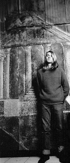 Kurt said that he never liked literal things. He liked cryptic things. He would cut out pictures of meat from grocery-store fliers, then paste these orchids on them. What does it mean? What is he trying to say? -Krist Novoselic