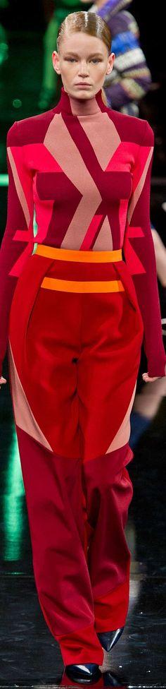 Peter Pilotto Collection Fall 2014 Ready To Wear Fantasy Fashion #UNIQUE_WOMENS_FASHION
