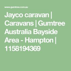 Find Caravans ads in Melbourne Region, VIC. Buy and sell almost anything on Gumtree classifieds. Caravans For Sale, The Hamptons, Ads, Touring Caravans For Sale