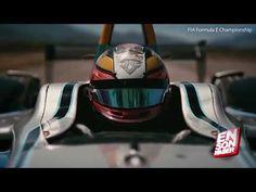 Elektrikli Formula 1 aracı Çita'ya karşı - Electric formula car, race wi...