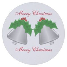 #Silver #Bells Christmas Paper #Coasters
