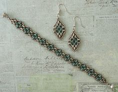 Linda's Crafty Inspirations: Harmony Band & Harmony Earrings Set