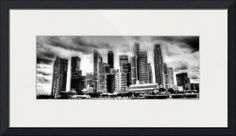 """""""Cityscape Singapore """" by 17 Victory & Co, Singapore // Cityscape Singapore 2013 // Imagekind.com -- Buy stunning fine art prints, framed prints and canvas prints directly from independent working artists and photographers."""