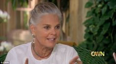 'About time, wouldn't you say?' Ali MacGraw, 75, spoke about her decision to let her hair go naturally grey in a new interview with Oprah Winfrey