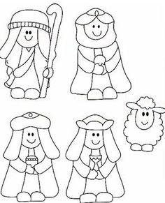 Pesebres tomados de la web :: RT Decoraciones y algo más... Christmas Nativity Scene, Christmas Art, Christmas Holidays, Bible Quiet Book, Christmas Cards Drawing, Christian Preschool, Felt Diy, Tole Painting, Applique Quilts