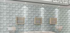 Wall Panel DIY Home Wall Sticker Ceiling Tiles Wallpaper Background Decal Plastic Wall Panels, Pvc Wall Panels, 3d Panels, Tile Wallpaper, Wallpaper Panels, 3d Wandplatten, Wall Panel Design, Curved Walls, Mosaic Wall Tiles