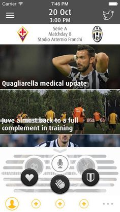 Juventus Live - TALK to your friends while watching Juve on TV   Juventus Live allows up to 4 friends to TALK while watching a Juve game on ...