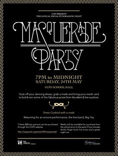 masquerade party invitations - Google Search