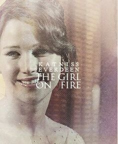 """THE GIRL ON FIRE"""