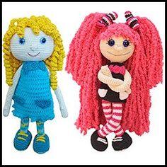 Puppe Häkelanleitung Doll Girl Mächen Amigurumi