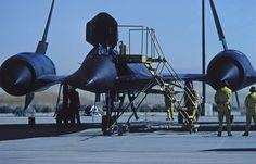 NASA/Lockheed YF-12A (#06935) preparing for launch during the late 1970s – Photo by Erik Simonsen.