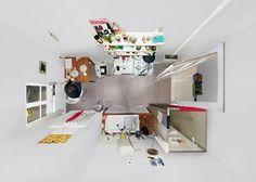 Portraits de chambres par Menno Aden Photo