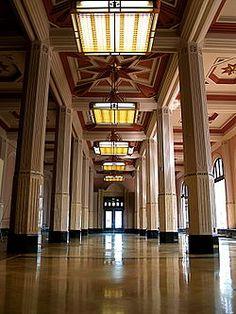 Art Deco Oklahoma Natural Gas Company building, Tulsa, built in 1925 Oklahoma Attractions, Tulsa Time, Tulsa Oklahoma, Art Deco Furniture, Classic Interior, Art Deco Design, Art World, Architecture Details, Photo Art