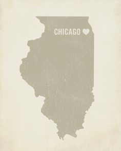 Wonder if you could print your own then decoupage it onto a painted block of wood. Of course, not Chicago ;)