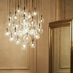 Buy John Lewis Lewis Semi-flush Light Online at johnlewis.com // this could be gorgeous over the dining table.
