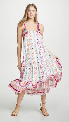 9771a76c31991f Juliet Dunn Tassel Maxi Dress Juliet Dunn