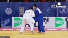 "Not my kind of throw, but is very efective… ""The Korean Seoi-nage"""