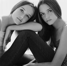 These are twins obviously but I like the pose.  Could do this with the jeans and…