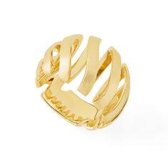 Anel de ouro amarelo 18K http://m.hstern.com.br/joia/anel/assinatura-hs/A2O205344