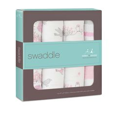 Aden + Anais Classic Swaddles 4 Pack - For The Birds | Baby Shower Gift www.duematernity.com