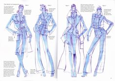 How to draw fabric/garments