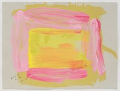 Howard Hodgkin | A Pale Reflection (2015-2016) | Available for Sale | Artsy