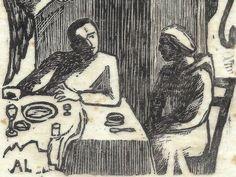"""De 21 de julho a 22 de setembro, quem passar pela Caixa Cultural pode ver a exposição """"Luzências"""", do pintor e gravador austríaco Axl Leskoschek (1889-1979). A exposição apresenta 100 gravuras, produzidas pelo artista entre 1939 e 1948, período em que morou e trabalhou no Brasil. A entrada é Catraca Livre."""