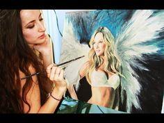 Speed Painting : Victoria's Secret Model Candice Swanepoel