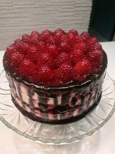Szénhidrát csökkentett Dia-Wellness málnás mascarpone torta Raspberry, Fruit, Cake, Diabetes, Food, Kitchen, Mascarpone, Cooking, Food Cakes