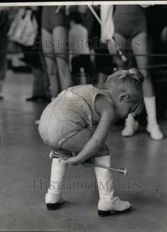 Little twirler... Sooo cute!