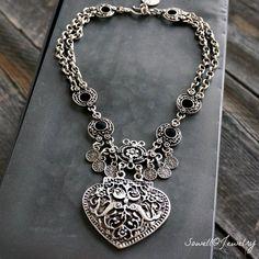 Drina Heart Necklace