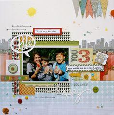 Life. Paper. Scrapbook. : Featured Designer - Monique Liedtke