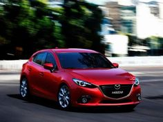 The mew 2014 Mazda3 looks pretty damn good. #cars #Mazda