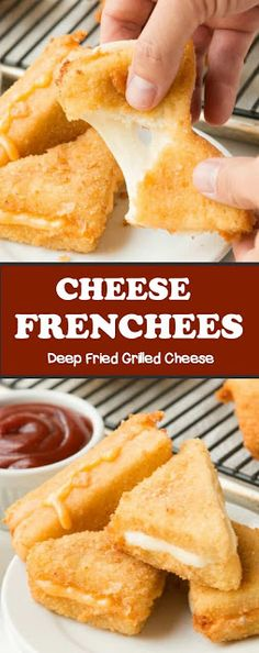 Cheese Frenchees Deep Fried Grilled Cheese