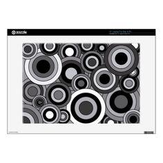 Black and White Circles Design