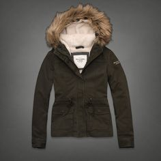 Sherpa with Faux Fur Jacket | Abercrombie.com | Check out our Pin To Win Challenge at http://on.fb.me/UfLuQd