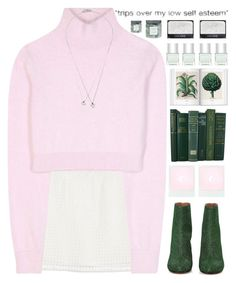 """""""*Your heart is too big for your body*"""" by my-black-wings ❤ liked on Polyvore featuring Monki, Balmain, Maison Margiela, Forever 21, Nails Inc. and Threshold"""