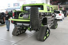 """Hummer H2T, why would you have a spare """"tire""""?"""