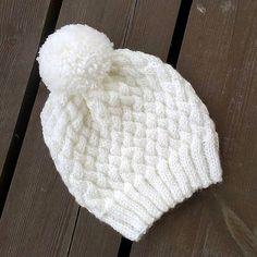 шапка узором плетёнка спицами мастер-класс
