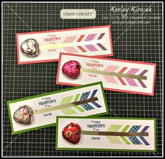 Keeley's Kreations: Close To My Heart Arrow Valentine Class