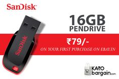 655f1aa7ee2 Grab a chance to Buy 16 GB Sandisk Pendrive at Just Rs. 79 - В· Ebay