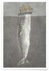 Revenge of the Whale - Premium Poster
