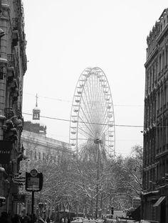 Frozen Day - Lyon, France Jan 2006 by Treasa Lynch