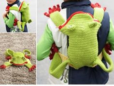 Crochet Backpacks Lots of Free Patterns   The WHOot