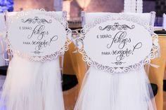 Ideia para a cadeira dos noivos