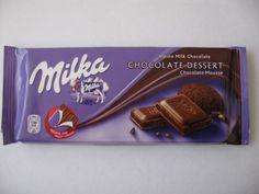 Milka chocolate mousse Milka Chocolate, Chocolate Desserts, Candy Recipes, Dessert Recipes, Chibi Food, Love Eat, Food Drawing, Dessert Drinks, Zimbabwe