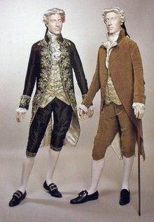 18th Century- Mens Fashion - Top Coat