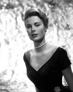 Grace Kelly in a promotional photo, photographed by Bud Fraker